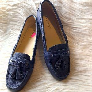 Talbots Indigo Blue Everton Leather Shoes. 8.5